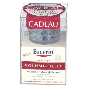 Eucerin Volume-Filler Day Care Normal To Combination Skin + FREE Night Care 50+20 ml