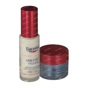 Eucerin Volume-Filler Serum Concentraat + GRATIS Nachtcreme 30+20 ml
