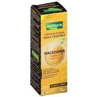 Phytosun Macadamia Huile Végétale Bio 50 ml