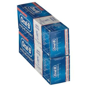 Oral B Toothpaste Pro Expert Strong Teeth 1+1 For FREE 2x75 ml