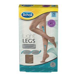 Scholl Light Legs 20DEN Extra Large Beige 1 st