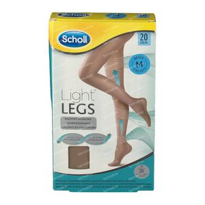 Scholl Light Legs 20DEN Medium Beige 1 st