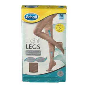 Scholl Light Legs 20DEN Small Beige 1 pièce