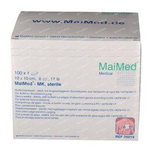 MaiMed Sterile Compress 10x10cm 100 pieces