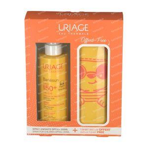 Uriage Bariésun Kids Spray SPF50+ + Anti-UV T-Shirt 3-5 Years For FREE 200 ml