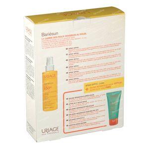 Uriage Bariésun Spray SPF50+ + GRATIS Herstellende Aftersun Balsem 200+150 ml