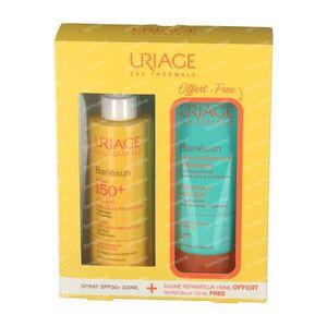 Uriage Bariésun Spray SPF50+ + Baume Réparateur Après-Soleil GRATUIT 200+150 ml