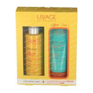 Uriage Bariésun Spray SPF50+ + Repairing After Sun Balm For FREE 200+150 ml