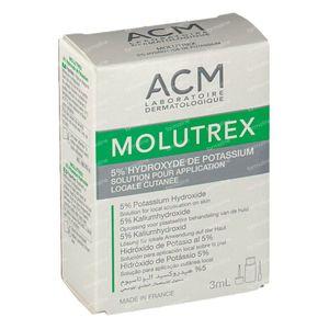 Molutrex 5% Solution 3 ml vial