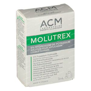 Molutrex 5% Solution 3 ml flacon