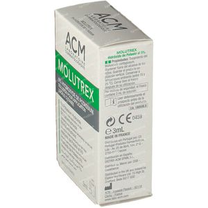 Molutrex 5% Oplossing 3 ml flacon