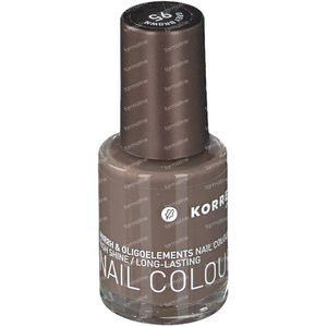 Korres Nagellak 95 Grey Brown 10 ml