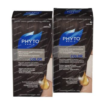Phytocolor 4 Chatain 1+1 GRATUIT 2 pièces