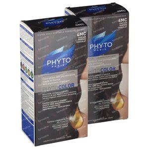 Phytocolor 4MC Castagna Marrone Cioccolato 1+1 GRATIS 2 stuks