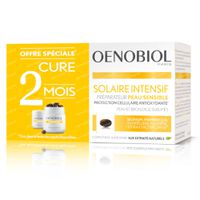 Oenobiol Solaire Intensif Peau Sensible - Protection Cellulaire de l'Interieur DUO 2x30  capsules