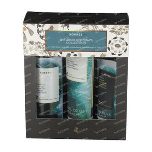 Korres Gift Set The Absolute Guava Collection 250+200+75 ml