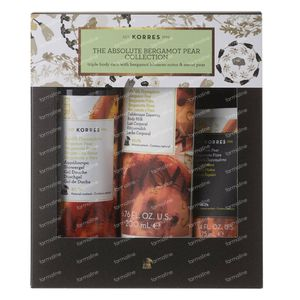 Korres XMas Set The Absolute Bergamot Pear Collection 250+200 ml