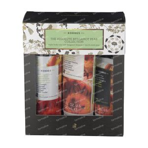 Korres Geschenkset The Absolute Bergamot Pear Collection 250+200+75 ml