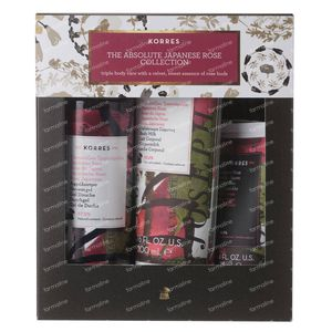 Korres XMas Set The Absolute Japanese Rose Collection 250+200 ml