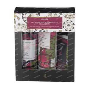 Korres Set Cadeau The Absolute Japanese Rose Collection 250+200 ml