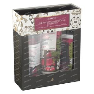 Korres Gift Set The Absolute Japanese Rose Collection 250+200+75 ml