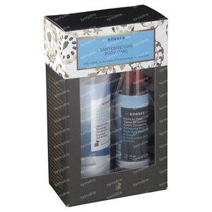 Korres Gift Set Santorini Vine Body Care 250+100
