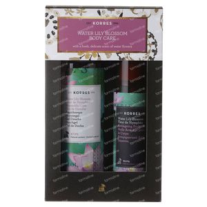 Korres XMas Set Water Lily Blossom Body Care 250+100