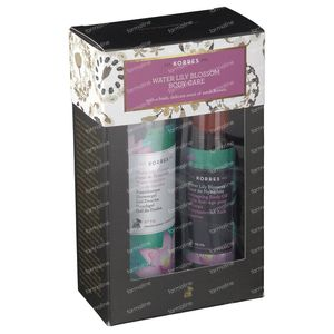 Korres Gift Set Water Lily Blossom Body Care 250+100 ml