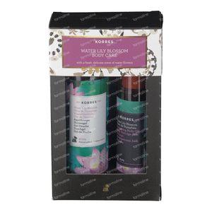 Korres Geschenkset Water Lily Blossom Body Care 250+100 ml