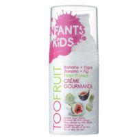 TOOFRUIT Crème Gourmande Pflegende Gesichtscreme Kids Banane - Feige Bio 30 ml