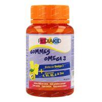 Pediakid Omega 3 Gummies 60  kaugummis