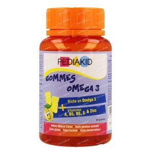 Pediakid Omega 3 Gummies 60 chewing gum