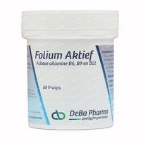 Deba Pharma Folium Aktief 60  capsules