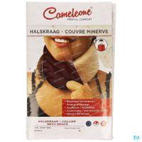 Cameleone Beschermer Halskraag Medium Wijnrood 1 st