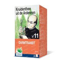 Kruidenthee uit de Ardennen® n°11 Darmtransit 20  zakjes