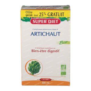 Super Diet Artichoke Bio +25% For FREE 15+5x15 ml ampoules