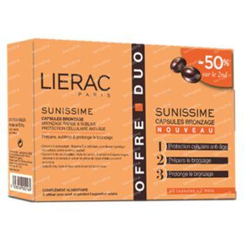 Lierac Sunissime Zongebruind Duo 2x30 capsules