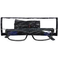 Pharma Glasses VisionBlue PC01 Zwart +2.50 1 st
