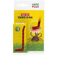 Care Plus Tick-Out Ticks-2-Go 1 st