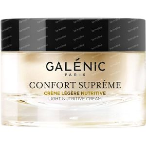 Galénic Confort Suprême Leichte Nahrhafte Creme 50 ml