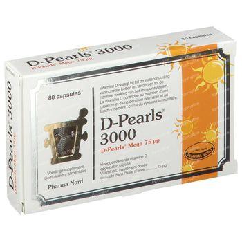 Pharma Nord D-Pearls 3000 80 kapseln