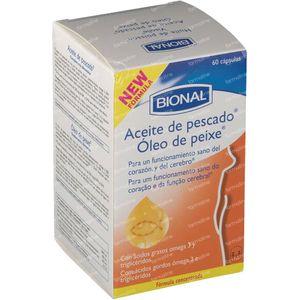 Bional aceite de pescado 60 stuks Cápsulas