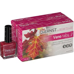 Dr Ernst Veno Tabs Duo + Gratis Nagellak  2 x 42 tabletten