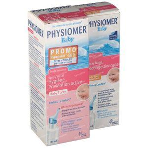 Physiomer Iso Baby Spray + Hypertonic Spray Set 135+60 ml