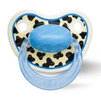 Bibi Happiness Sucette Tiger Dental 16 Moins+ DUO 2 pièces
