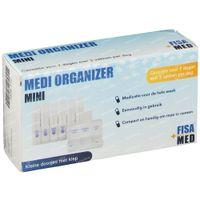 Fisamed Medi Organizer Mini Boîte Pilules 1 st