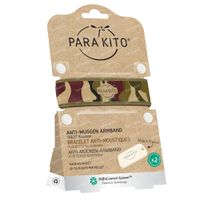 Para'Kito Anti-Mosquito Wristband Graphic Camouflage Refillable 1 pièce