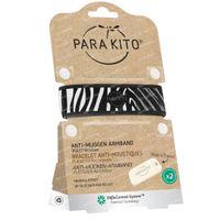 Para'Kito Anti-Moustique Bracelet Graphic Zebra Rechargeable 1 pièce