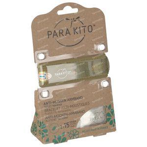 Para'Kito Anti-Moustique Bracelet GRAPHIC Masks Rechargeable 1 pièce