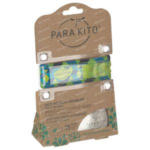 Para'Kito Anti-Moustique Bracelet GRAPHIC Cubes Rechargeable 1 pièce